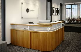 Small White Reception Desk by Modern Minimalist Reception Desk For Small Space Finding Desk