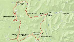 Cumberland River Map Co High Country On Dirt Bikes U2013 Adventure Rig
