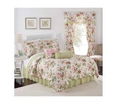 bed bath and beyond norfolk amazon com waverly emma s garden reversible quilt set king quilt