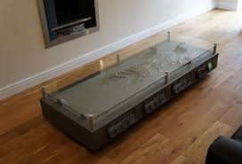 star wars living room grey rectangle unusual glass top star wars coffee table design ideas