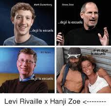 Bill Gates And Steve Jobs Meme - mark zuckerberg dejo la escuela bill gates ejo la escuela steve