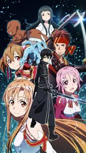 wallpaper android sao sword art online wallpapers group 87
