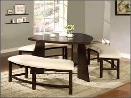 dining set triangle dining table with bench pub style dining