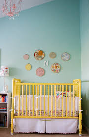 yellow and blue crib bedding cottage nursery new arrivals inc