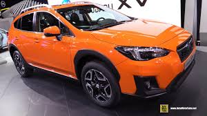 subaru crosstrek interior 2018 2018 subaru xv exterior and interior walkaround 2017 geneva