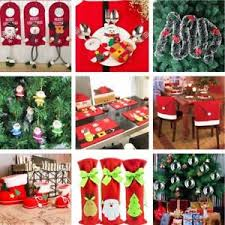 decoration supplies gift bag santa chair toilet for