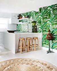 tropical kitchen tropical kitchen wallpaper ideas