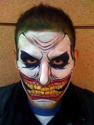 ghost face painting for halloween 20 horrible halloween face paintings golfian com