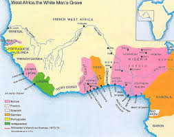 Gambia Africa Map by The British Empire In Africa