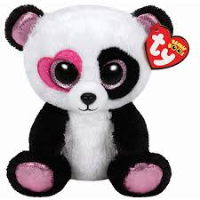 ty valentines beanie boo mandy soft toys dolls soft toys