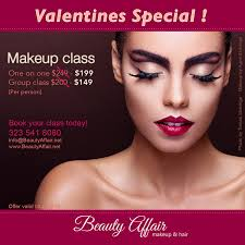 hair and makeup classes s day special makeup class beautyaffair