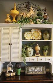 ideas for top of kitchen cabinets