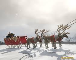 santa claus sled merry christmas gta5 mods com