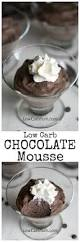 sugar free low carb chocolate mousse recipe low carb yum