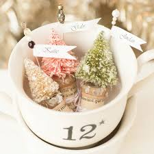 christmas holders miniature christmas tree place card holders project stington