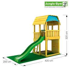 jungle gym barn kit only excludes slide u0026 timber