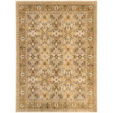 Karastan Area Rugs Karastan Madon Gold 5 Ft 3 In X 7 Ft 8 In Area Rug 000996