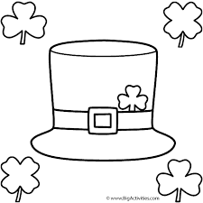 pritanble happy st patricks day coloring pages st patricks day