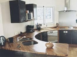plan de travail bois cuisine création de plan de travail de cuisine à meythet 74 inox bois