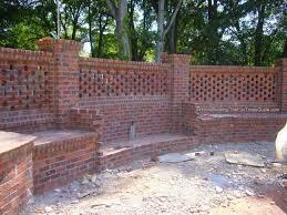 Beautiful Garden Brick Wall Fence Pinterest Walls Gardens - Brick wall fence designs