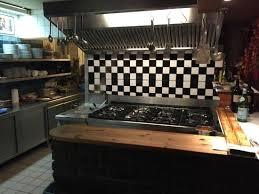 küche köln die zentrale offene küche des restaurants bild trattoria