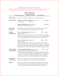 Undergraduate Student Resume Sample by Sample Resume Format For Undergraduate Students Resume For Your