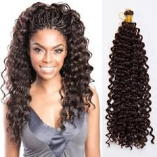 crochet braids with human hair ombre full head water wave deep curly crochet braids 100 human