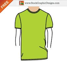 men u0027s basic t shirt template free vector illustration vector t