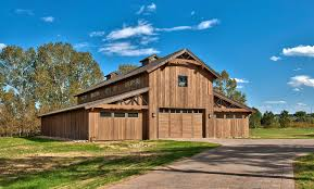 Garage With Living Quarters by Pole Barn With Living Quarters Garage And Shed Farmhouse With