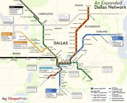 A Train Map Dallas Rail Map Jpg