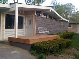 mid century modern landscape design ideas exterior midcentury with
