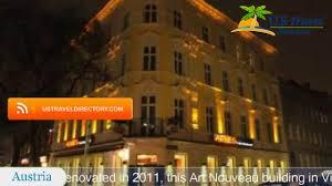 arnes hotel vienna wien hotels austria youtube