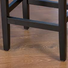 Backless Counter Stool Leather Amazon Com Chantal Backless Black Leather Counter Stools W