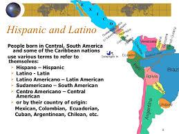 4 american cultures map hispanic culture