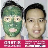 Masker Spirulina Per Butir jual wajah masker spirulina original murah dan terlengkap