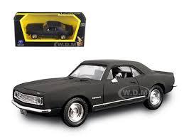 1967 camaro diecast chevrolet camaro z28 matt black 1 43 diecast model car road
