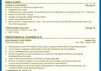 resume for internship exle mechanical engineering internship resume resume for internship in