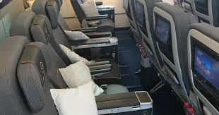 fight nearly breaks out on my lufthansa flight over seat recline