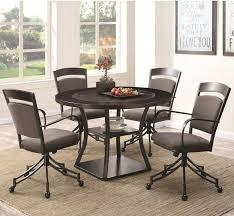 Essential Home Hayden 5 Piece Upholstered Dining Set by Dining Room Sets Furniture Store Dallas Fort Worth Tx Furniture