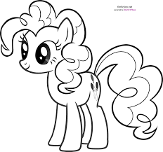 my little pony pinkie pie coloring pages getcoloringpages com