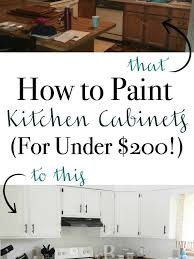 is it worth painting your kitchen cabinets how to paint kitchen cabinets for 200
