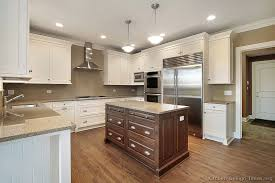 Two Color Kitchen Cabinet Ideas Delightful Ideas Two Color Kitchen Cabinet Ideas Pictures Of
