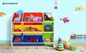 amazon cuisine enfant songmics meuble de rangement pour jouets et livres chambre d enfant