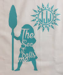 Instant Pot Decals by Personalized Moana Shirt Monogram Moana Shirt The Sea It
