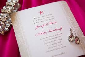 wedding invitations jacksonville fl pink wedding at casa marina hotel restaurant in