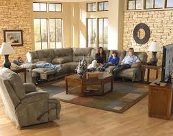 catnapper voyager lay flat 3 pc sectional w triple recline sofa