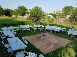 Rent Table And Chairs by Tables And Chairs For Rent Dance Floor Msg For Information