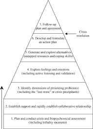 roberts 7 stage crisis intervention model social work