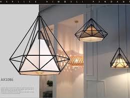 Black Diamond Lights American Vintage Cage Pendant Lights Eu Warehouse Black Diamond