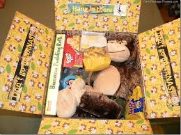 don t go bananas theme care package or gift basket for someone far